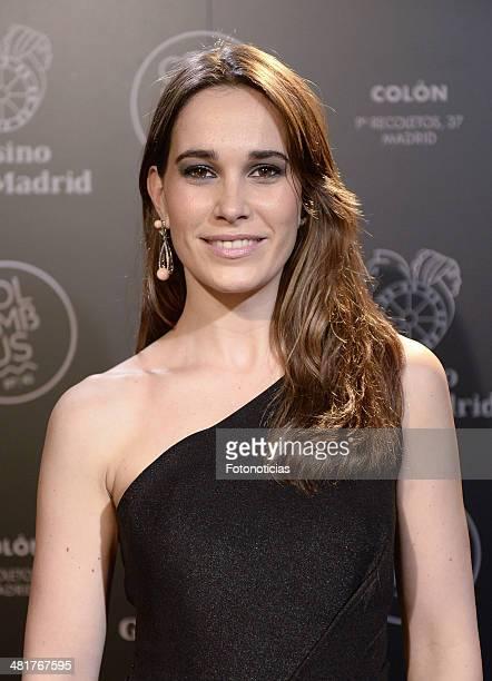 Celia Freijero attends Casino Gran Madrid-Colon Goya's Party on March 31, 2014 in Madrid, Spain.