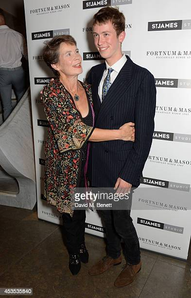 """Celia Imrie and son Angus attend an after party celebrating the press night performance of """"Celia Imrie: Laughing Matters"""" at the St James Theatre on..."""