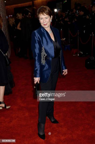 Celia Imrie attends the Rakuten TV EMPIRE Awards 2018 at The Roundhouse on March 18, 2018 in London, England.