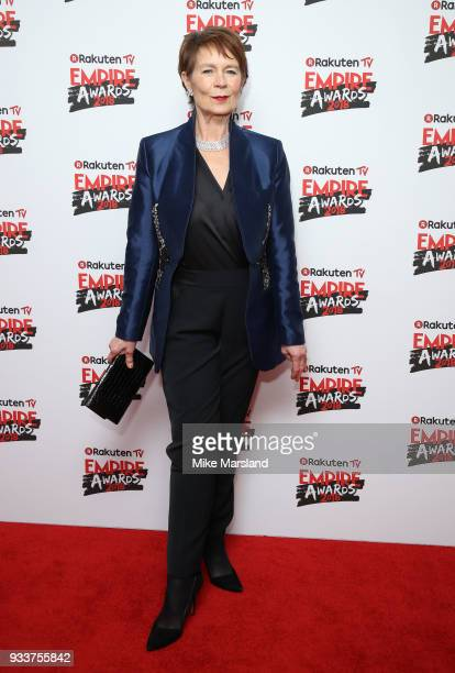 Celia Imrie attends the Rakuten TV EMPIRE Awards 2018 at The Roundhouse on March 18 2018 in London England