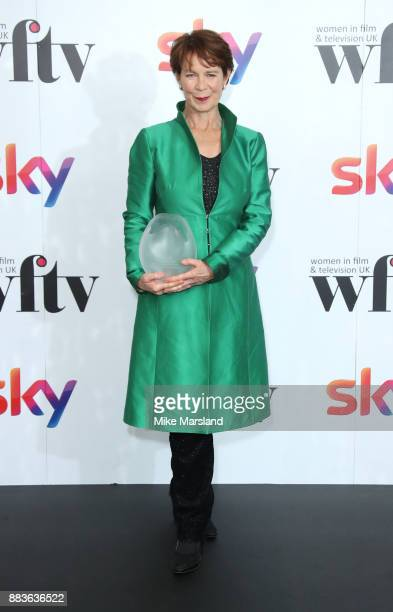 Celia Imrie attends the 'Sky Women In Film and TV Awards' held at London Hilton on December 1 2017 in London England