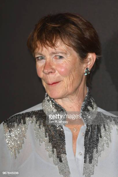 Celia Imrie attends the UK premiere of 'The Happy Prince' at Vue West End on June 5 2018 in London England