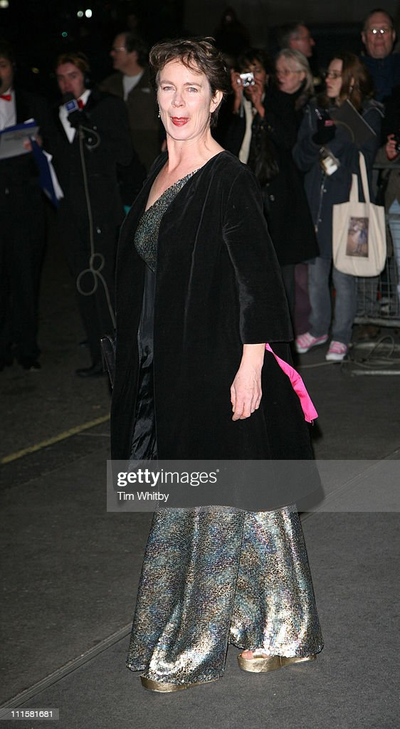 Celia Imrie during 2006 Laurence Olivier Awards - Outside Arrivals at London Hilton in London, Great Britain.