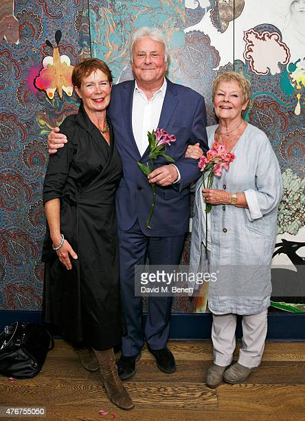 Celia Imrie joins Sir Richard Eyre and Dame Judi Dench following an 'In Conversation' at The Hospital Club as part of the Mountview Academy's 70th...