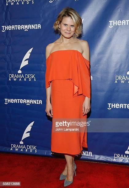 Celia KeenanBolger attends 2016 Drama Desk Awards at Anita's Way on June 5 2016 in New York City