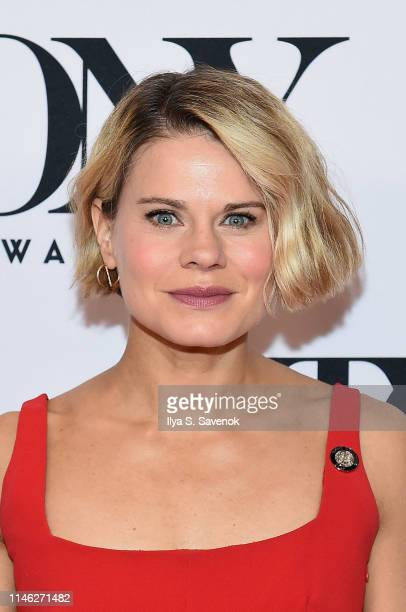 Celia KeenanBolger attends The 73rd Annual Tony Awards Meet The Nominees Press Day at Sofitel New York on May 01 2019 in New York City