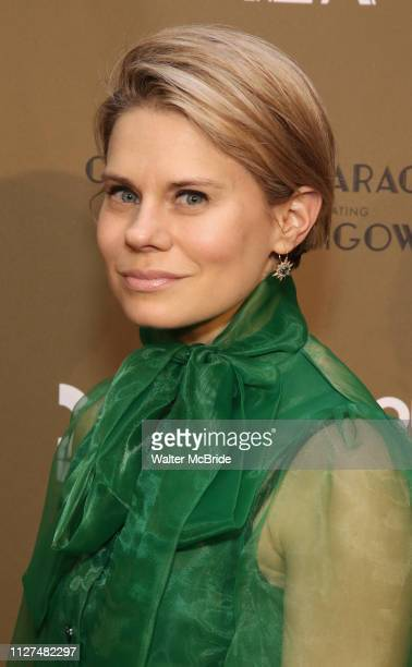 Celia KeenanBolger attends the Roundabout Theatre Company's 2019 Gala honoring John Lithgow at the Ziegfeld Ballroom on February 25 2019 in New York...
