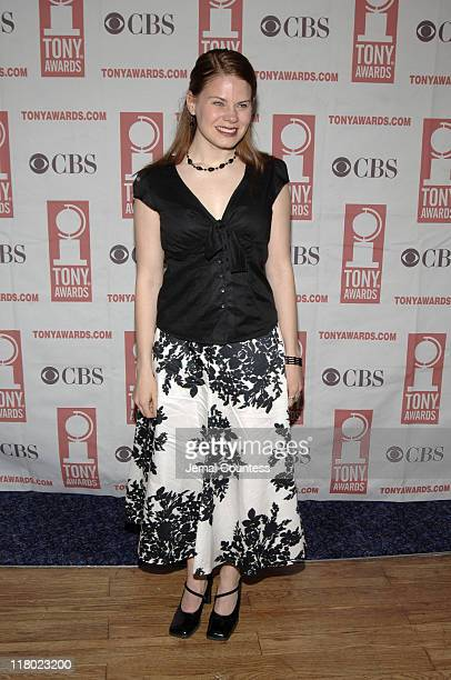 Celia Keenanbolger during 59th Annual Tony Awards 'Meet The Nominees' Press Reception at The View at The Marriot Marquis in New York City New York...