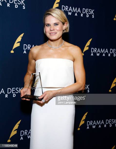 Celia KeenanBolger winner of Outstanding Featured Actress in a Play for To Kill A Mockingbird attends 2019 Drama Desk Awards at HB Burger on June 2...