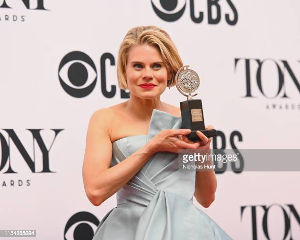 """Celia KeenanBolger winner of the award for Best Performance by an Actress in a Featured Role in a Play for """"To Kill a Mockingbird"""" poses in the Press..."""