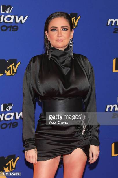 Celia Lora attends the red carpet of the MTV MIAW Awards at Palacio de los Deportes on June 21 2019 in Mexico City Mexico