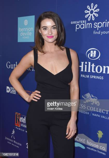 Celia Massingham attends the Closing Night Screening of 'Ladies In Black' at the 30th Annual Palm Springs International Film Festival on January 13...