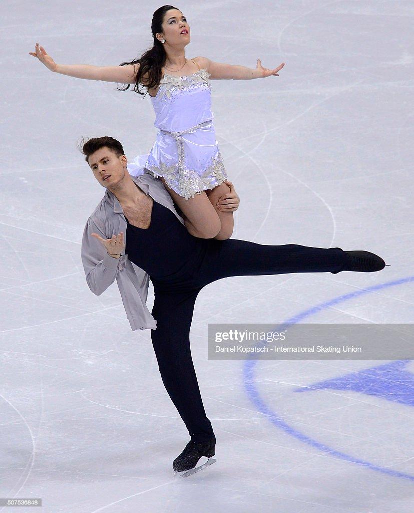 European Figure Skating Championships 2016  - Day 4 : Nachrichtenfoto