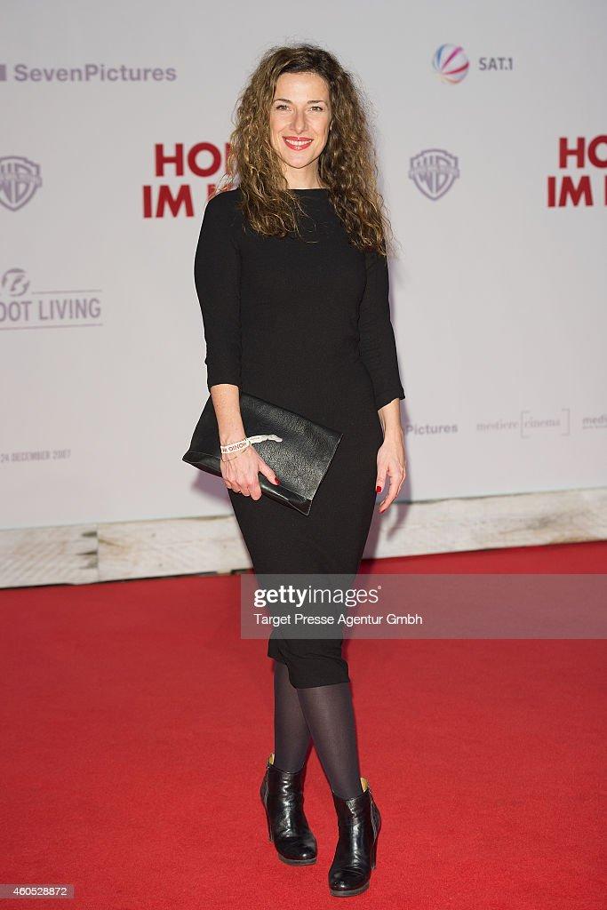 Celia Sarto attends the 'Honig im Kopf' Premiere at CineStar on December 15, 2014 in Berlin, Germany.