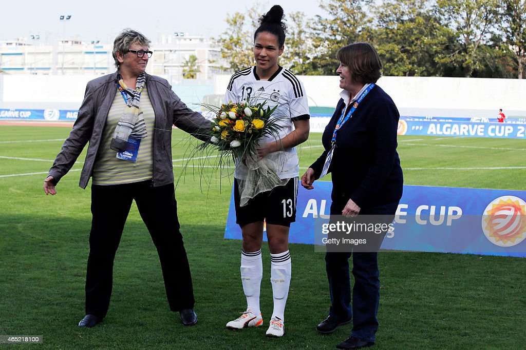 Germany v Sweden - Women's Algarve Cup : News Photo