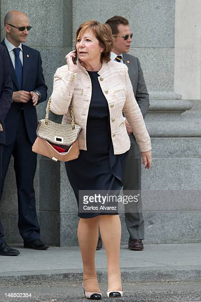 Celia Villalobos attends the bicentennial of the creation of the Supreme Court on June 18 2012 in Madrid Spain