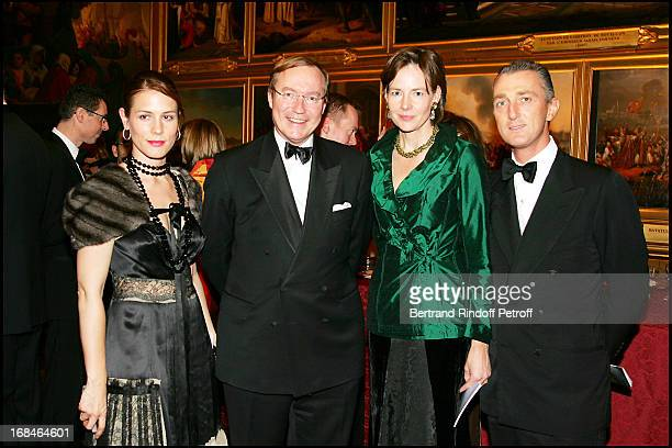 Celia Von Bismark Prince Jean of Luxembourg Diane De Guerre and Paolo Borghese party to the benefit of the artworks of the Sovereign Order of Malta...