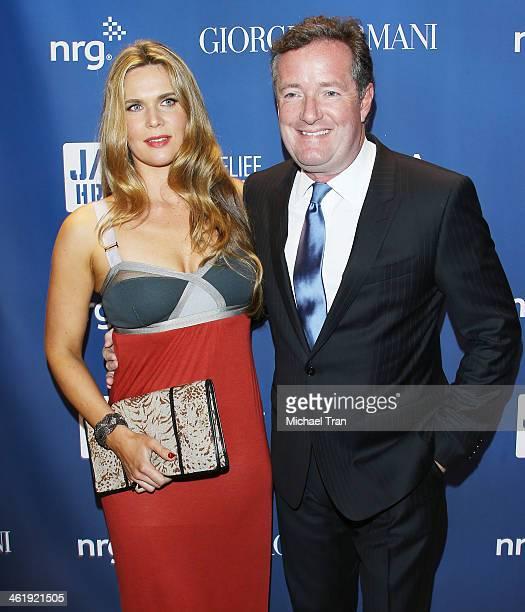 Celia Walden and Piers Morgan arrive at the 3rd Annual Sean Penn & Friends Help Haiti Home Gala benefiting J/P HRO presented By Giorgio Armani held...