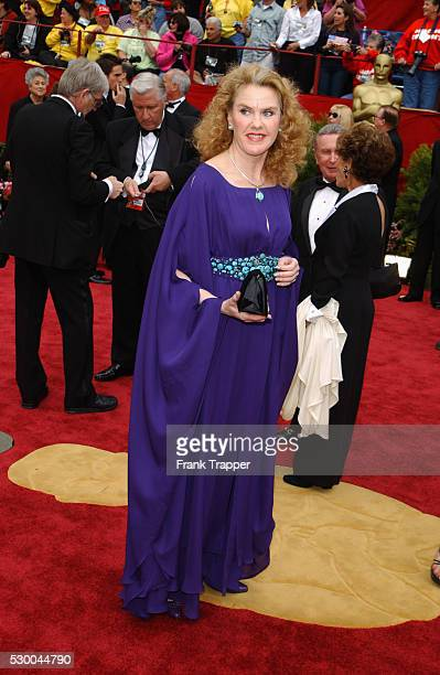 Celia Watson arrives at the 74th annual Academy Awards
