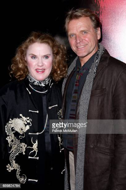 Celia Weston and David Rasche attend WARNER BROTHERS PICTURE NEWS Presents the New York Premier of THE BOX at AMC Lincoln Square 13 on November 4...