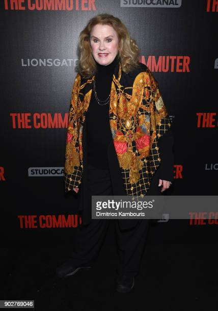 Celia Weston attends 'The Commuter' New York Premiere at AMC Loews Lincoln Square on January 8 2018 in New York City