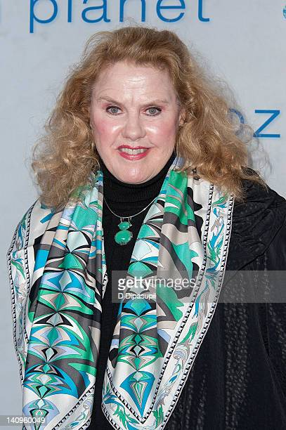 """Celia Weston attends the """"Frozen Planet"""" premiere at Alice Tully Hall, Lincoln Center on March 8, 2012 in New York City."""