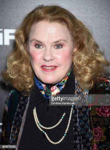 Celia Weston attends the premiere of IFC Films' 'Freak Show' hosted by The Cinema Society at Landmark Sunshine Cinema on January 10 2018 in New York...