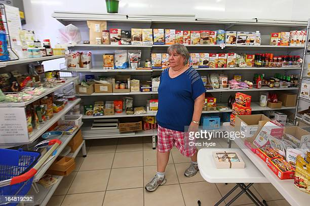 Celiac Supplies in the suburb of Coorparoo on March 28 2013 in Brisbane Australia Speciality food shop owner Georgina is charging $5 for customers to...