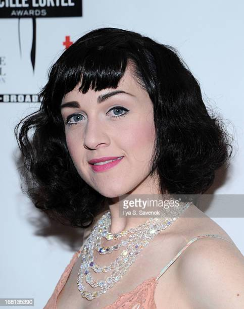 Celina Carvajal attends the 28th Annual Lucille Lortel Awards at NYU Skirball Center on May 5 2013 in New York City