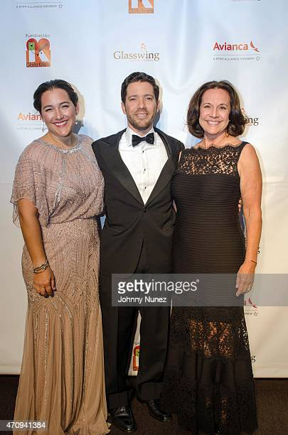 Celina de Sola Diego de Sola and Eleonora attend the 2015 Glasswing International Benefit Gala at Tribeca Three Sixty on April 23 in New York City
