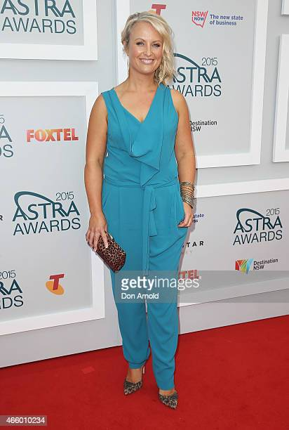 Celina Edmonds arrives at the 2015 ASTRA Awards at the Star on March 12, 2015 in Sydney, Australia.