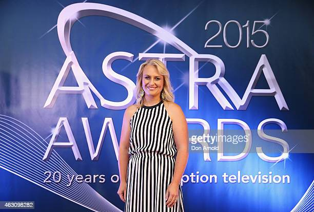 Celina Edmonds poses at the 2015 ASTRA Awards Nominations Photo Call at The Star on February 10, 2015 in Sydney, Australia.
