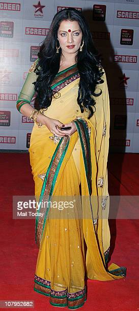 Celina Jaitley at the Star Screen Awards 2011 at Bandra Kurla Complex in Mumbai