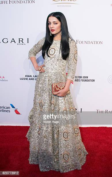 Celina Jaitley attends AIDS Foundation 15th Annual New York Benefit Gala at Cipriani Wall Street on November 2 2016 in New York City