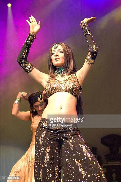 Celina Jaitley during Bollywood Heat Live 2006 at the UIC Pavilion in Chicago April 24 2006 at UIC Pavilion in Chicago Illinois United States