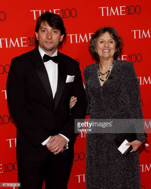 Celina Maria Turchi Martelli attends the 2017 Time 100 Gala at Jazz at Lincoln Center on April 25 2017 in New York City