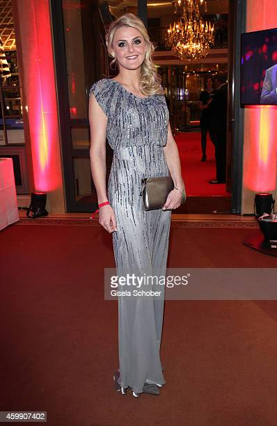 Celina Scheufele girlfriend of Christoph Kramer during the Audi Generation Award 2014 at Hotel Bayerischer Hof on December 3 2014 in Munich Germany