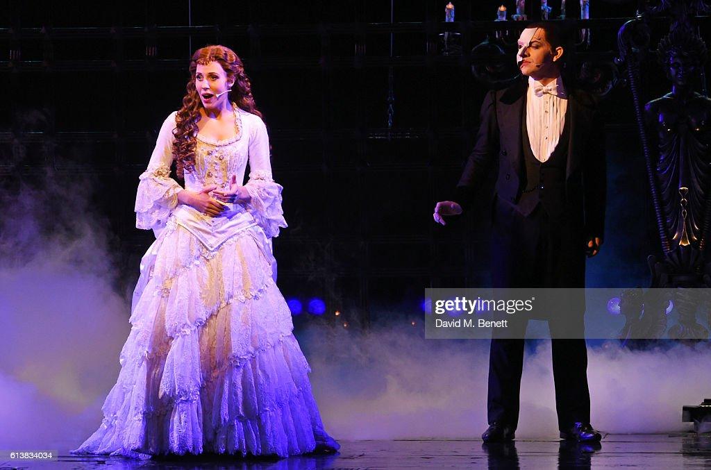 Celinde Schoenmaker and Ben Forster perform onstage at
