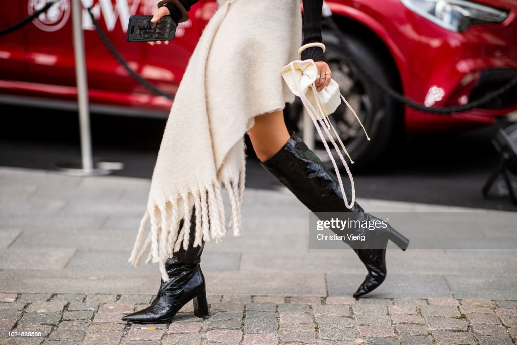 Day 1 - Street Style - Stockholm Runway SS19 : Photo d'actualité