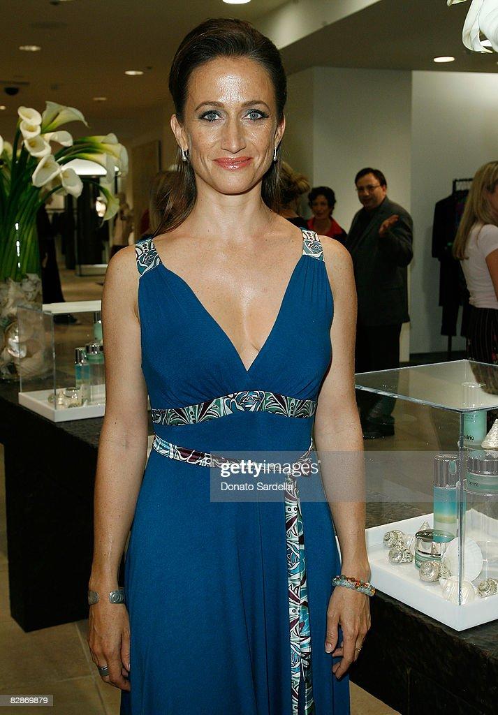 98a1bb20171a Celine Cousteau attends the Saks Fifth Avenue La Prairie event on ...