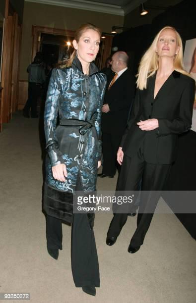 Celine Dion and Anne Geddes