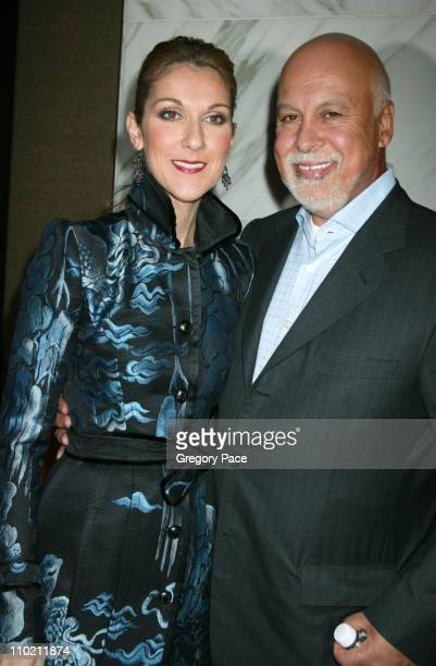 Celine Dion and Rene Angelil during Celine Dion And Renowned Photographer Anne Geddes Celebrate The Release Of Their Unprecedented CD/Book...