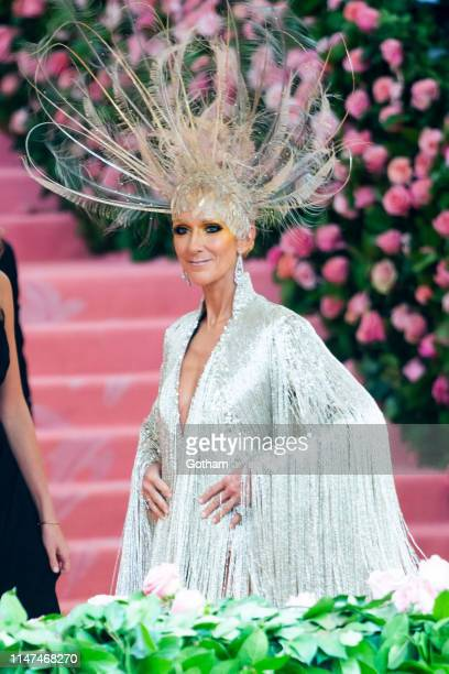 Celine Dion attend the 2019 Met Gala celebrating 'Camp Notes on Fashion' at the Metropolitan Museum of Art on May 06 2019 in New York City