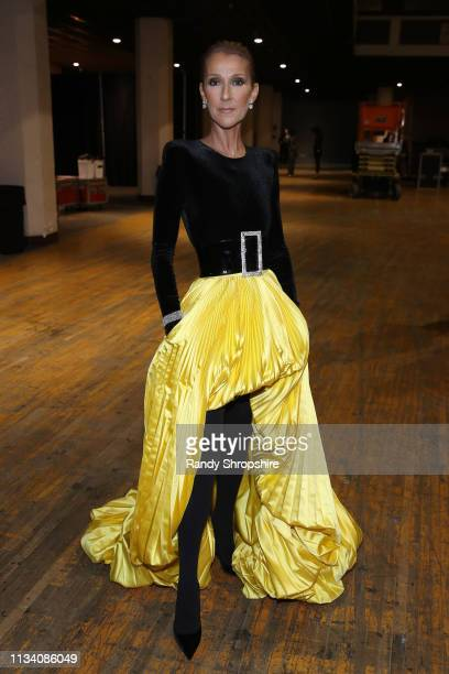 Celine Dion attends AllStar Lineup Pays Tribute At Aretha A GRAMMYCelebration For The Queen Of Soul at The Shrine Auditorium on January 13 2019 in...
