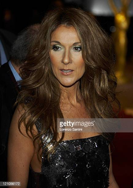Celine Dion attends the 2007 World Music Awards held at the Sporting Club on November 4 2007 in Monte Carlo Monaco