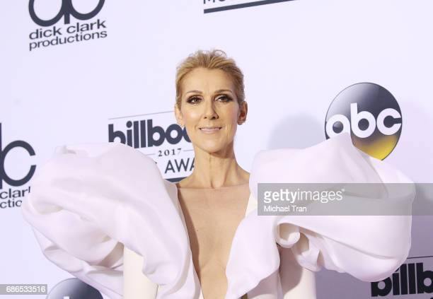 Celine Dion attends the 2017 Billboard Music Awards Press Room held at TMobile Arena on May 21 2017 in Las Vegas Nevada