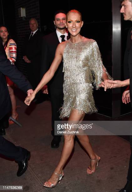 Celine Dion attends the 2019 Met Gala Boom Boom Afterparty at The Standard hotel on May 06, 2019 in New York City.