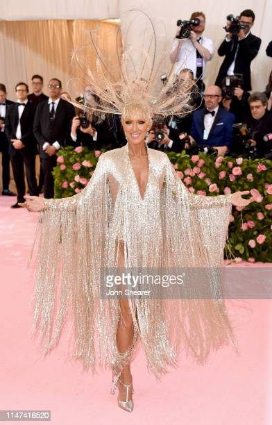 Celine Dion attends The 2019 Met Gala Celebrating Camp Notes on Fashion at Metropolitan Museum of Art on May 06 2019 in New York City