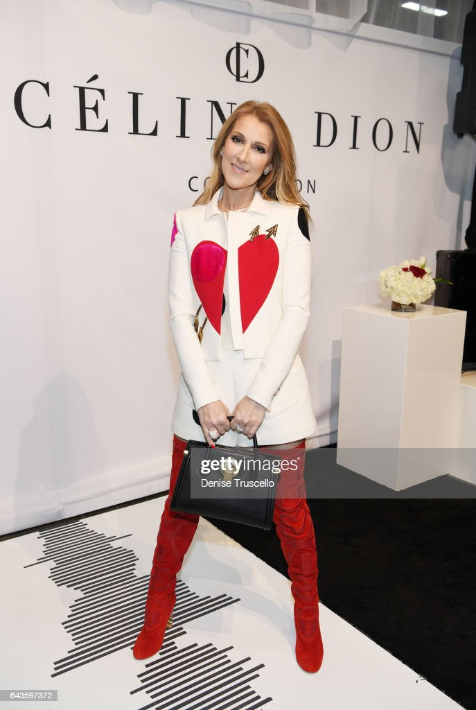 Celine Dion Collection - First Handbag And Accessory Collection Press Conference at Project Womens at Mandalay Bay