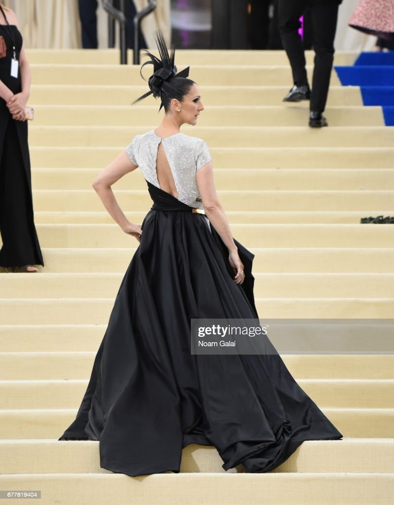 Celine Dion attends the 'Rei Kawakubo/Comme des Garcons: Art Of The In-Between' Costume Institute Gala at Metropolitan Museum of Art on May 1, 2017 in New York City.